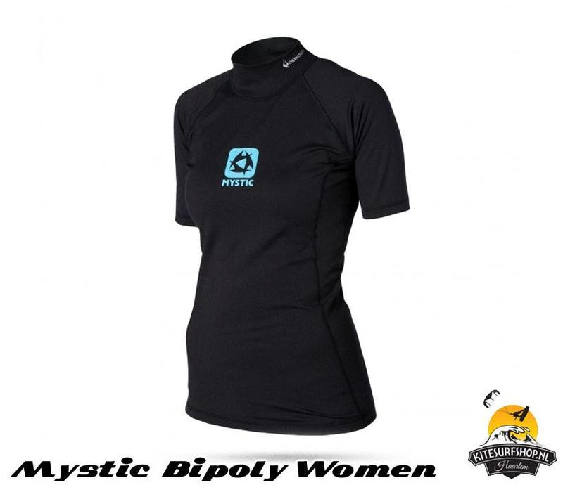 Bipoly Thermo Vest S/S Women Black