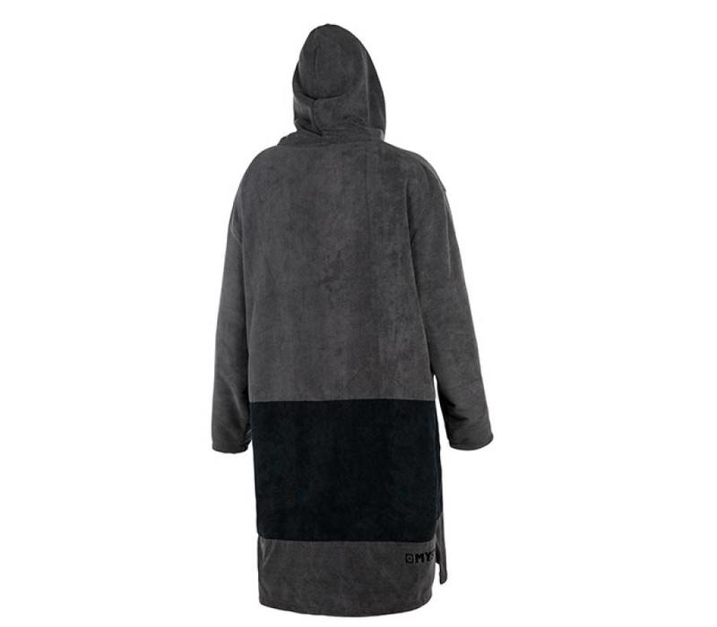 Mystic Poncho Long Black/Grey