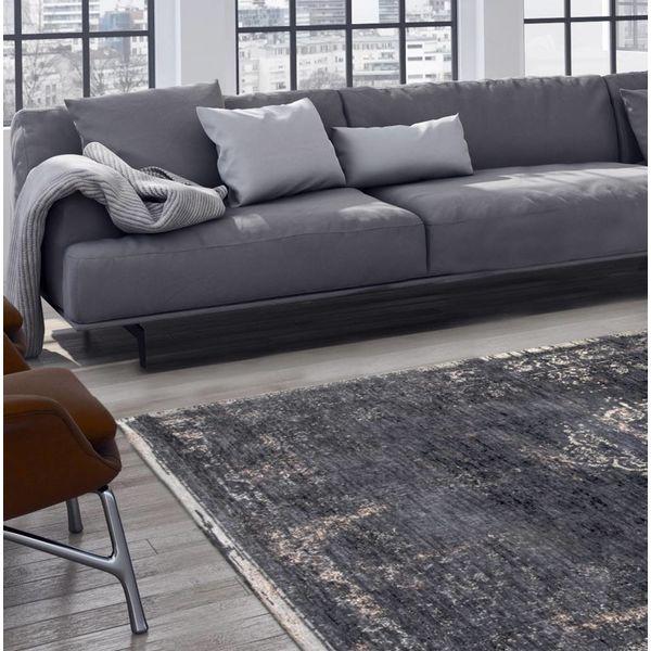vloerkleed the fading world mineral black 8263 de woonwinkelier. Black Bedroom Furniture Sets. Home Design Ideas