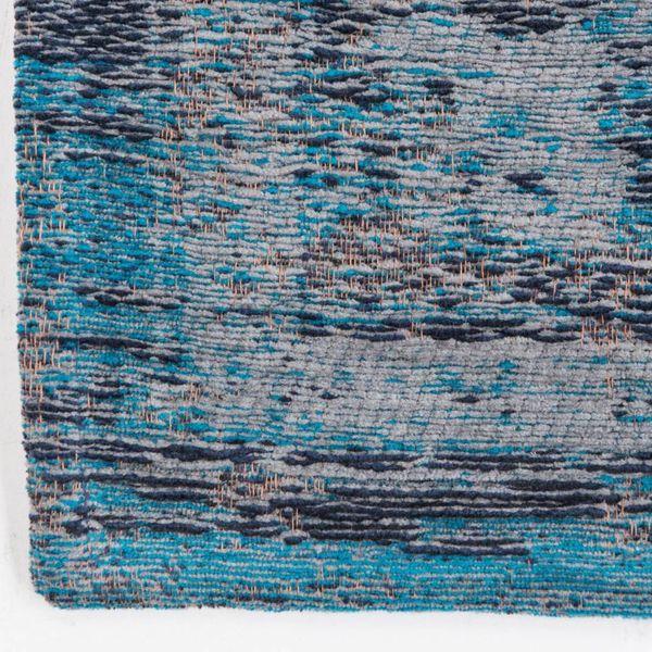 Louis de Poortere Vloerkleed The Fading world Grey Turquoise 8255