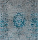 Louis de Poortere Vloerkleed The Fading world Grey Turquoise 8255