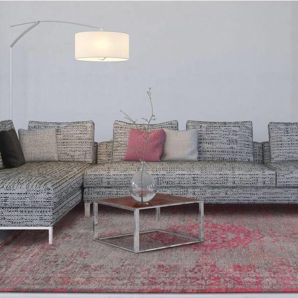 Louis de Poortere Vloerkleed The Fading world Pink Flash 8261
