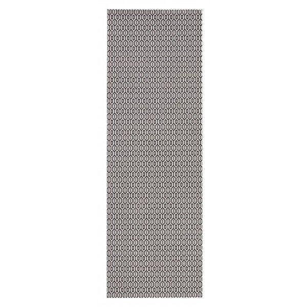 Bougari Buiten vloerkleed Coin - Zwart 102474