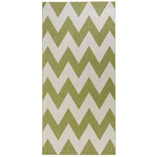 Bougari Vloerkleed Unique - Groen/beige