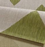 Bougari Buitenkleed Unique - Groen/beige