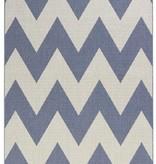 Bougari Buitenkleed Unique - Blauw/beige