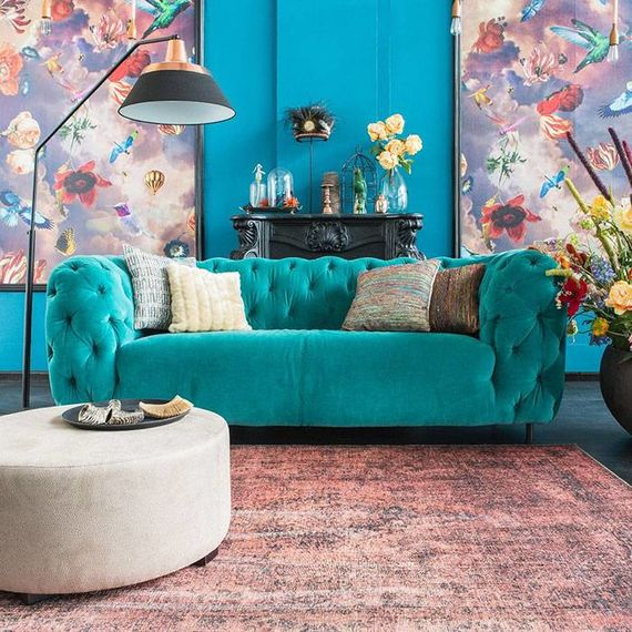 Brinker carpets Vintage vloerkleed Moods Oudroze No.04