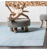 Brinker carpets Vintage vloerkleed patchwork Moods Zee blauw No.08