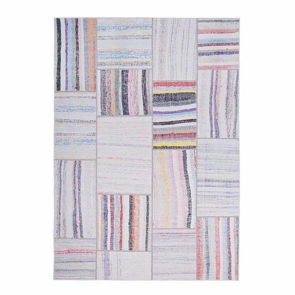 Vloerkleed patchwork Moods Grijs Multicolor No.15