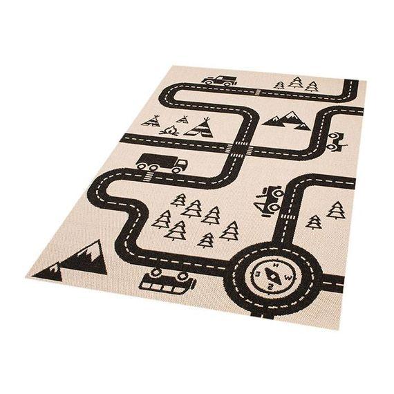 Zala living Kindervloerkleed Ella - auto map