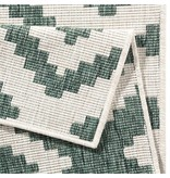 Bougari Vloerkleed Twin Diamond - Groen/Creme