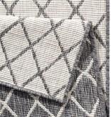 Bougari Buitenkleed Twin Lines - Grijs/Creme