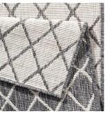 Vloerkleed Twin Lines - Grijs/Creme