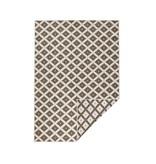 Vloerkleed Twin Cubes - Bruin/Creme