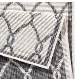 Bougari Buitenkleed Twin Circle - Grijs/Creme