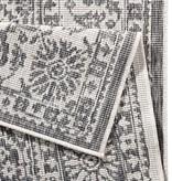 Bougari Buitenkleed Twin Barok - Grijs/Creme