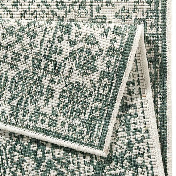 Bougari Vloerkleed Twin Barok - Groen/Creme