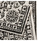 Bougari Buitenkleed Twin Barok - Zwart/Creme