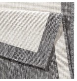 Bougari Buitenkleed Twin Square - Grijs/Creme