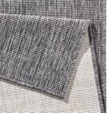 Vloerkleed Twin Solid - Grijs/Creme
