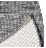 Bougari Rond Vloerkleed Twin Solid - Grijs/Creme