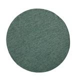 Rond Vloerkleed Twin Solid - Groen/Creme