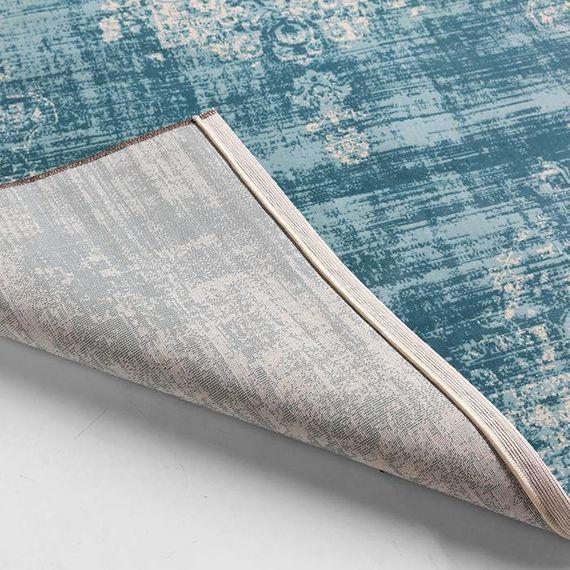 Lifa Living Vintage vloerkleed - Classic licht blauw