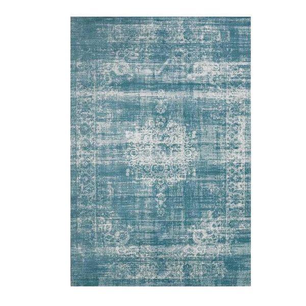 Vintage vloerkleed - Classic licht blauw