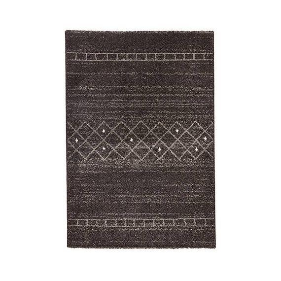 Mint Rugs Hoogpolig vloerkleed Rana - Stripes bruin/grijs