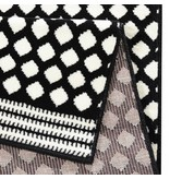 Zala living Vloerkleed Bastille - Stip zwart/wit