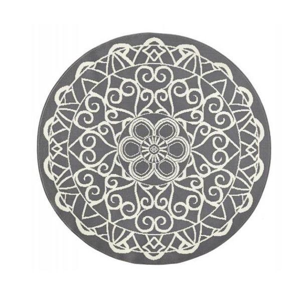 Zala living Vloerkleed Bastille - Ornament grijs/wit