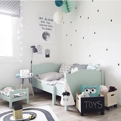 Vloerkleed babykamer