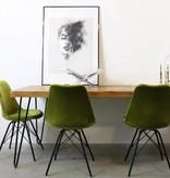Kick Collection Stoel Velvet - groen