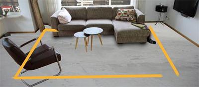 De juiste afmeting voor een vloerkleed in de woonkamer