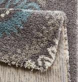 Mint Rugs Hoogpolig vloerkleed Allure - Globe grijs
