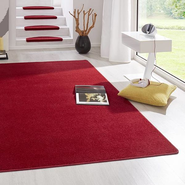Vloerkleed laagpolig Fancy rood