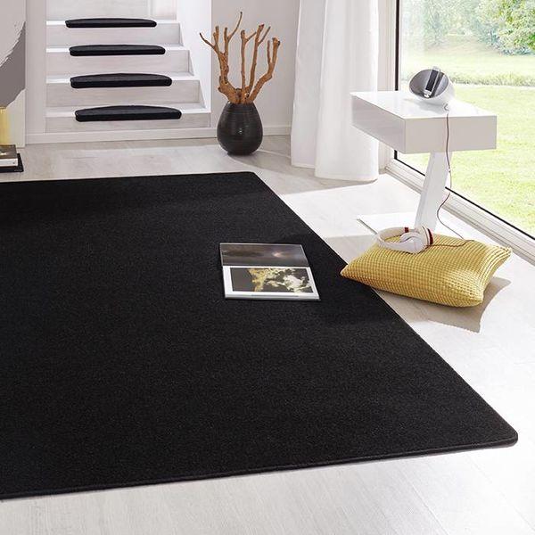 Vloerkleed laagpolig Fancy zwart