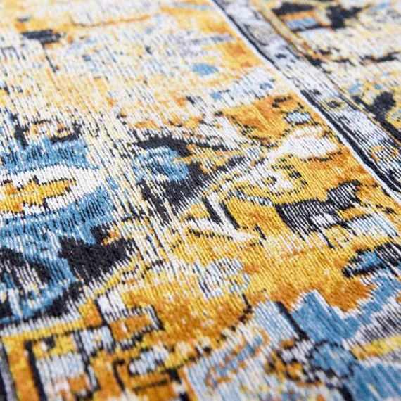 Louis de Poortere Vintage Vloerkleed Antiquarian-Amir Gold 8704