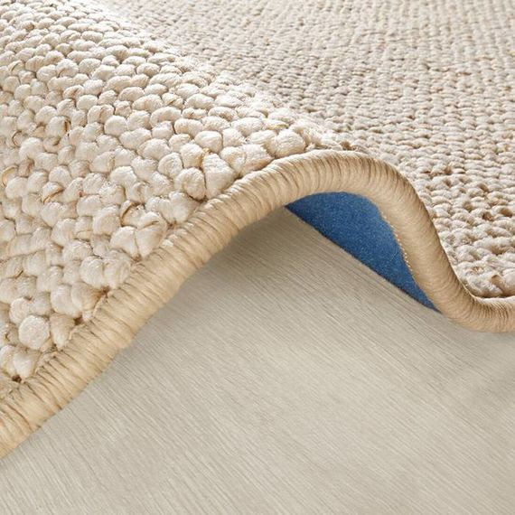 Mint Rugs Rond vloerkleed Wolly - Creme