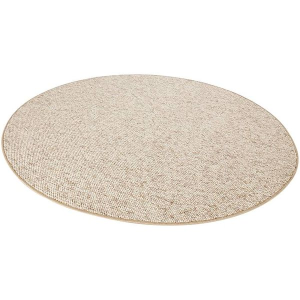 Mint Rugs Rond vloerkleed Wolly-Beige