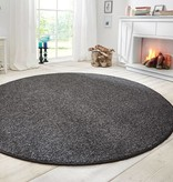 Mint Rugs Rond vloerkleed Wolly-Antraciet