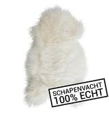 Echt Schapenvacht - wit - 60 x 90cm