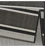 Bougari Buitenkleed Strap - Zwart