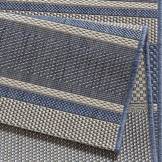 Bougari Buitenkleed Strap - Blauw
