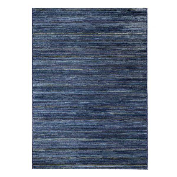 Bougari Buitenkleed Lotus - Blauw gemeleerd