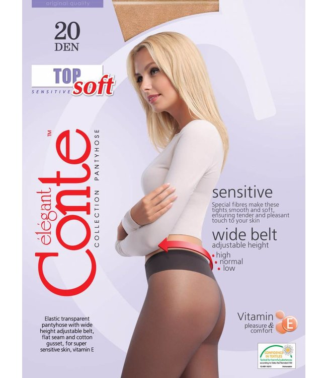 Conte Top Soft 20 denier panty