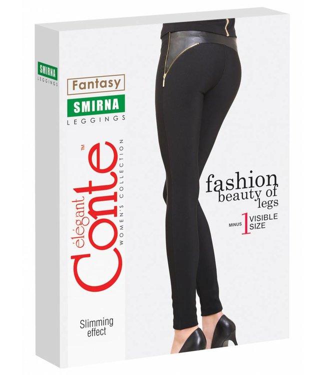 Conte Smirna rib tricot leggings