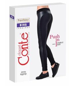 Conte Diva rib tricot leggings