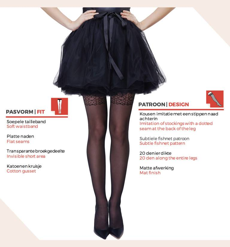 Fit design pantyhose are 1