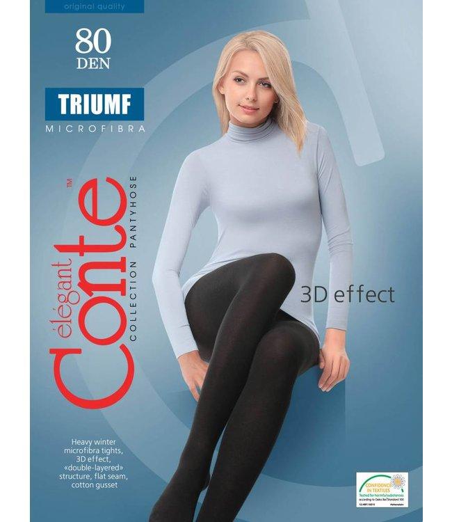 Conte Conte Triumf 3D Microfibra 80 den tights